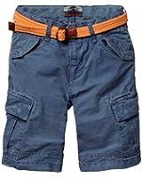 Scotch Shrunk Jungen Short 13410181506 - baggy fit cargo shorts + belt