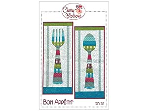 Amazon.com: Cherry Blossoms Quilting Studio 'Bon Appetit' Fork and