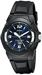 CASIO Men's MW600F-2AV Sport Watch with Black Band
