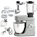 220 Volt/ 50 Hz, Kenwood KMM77009 Premier 9 Major Stand Mixer Plus Glass Blender, Ss Meal Grinder & Glass Multi Mill, , OVERSEAS USE ONLY, WILL NOT WORK IN THE US