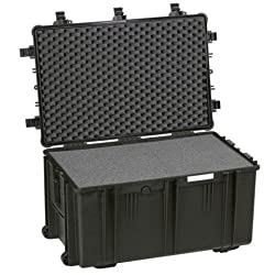 Explorer Cases Large Hard Case 7641 with Foam & Wheels (Black)