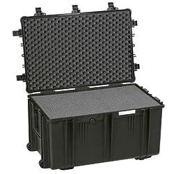 Explorer Cases Large Hard Case 7641 with Foam & Wheels (Black)