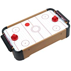 Buy Mini Table Top Air Hockey - Comes with Everything You Need by Trademark