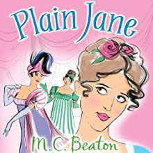 Plain Jane: A House for the Season, Book 2 Audiobook by M.C. Beaton Narrated by Penelope Rawlins