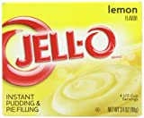 Kraft Jello Instant Lemon Dessert Pudding and Pie 96 g (Pack of 4)