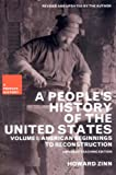 img - for A People's History of the United States: American Beginnings to Reconstruction (New Press People's History) book / textbook / text book
