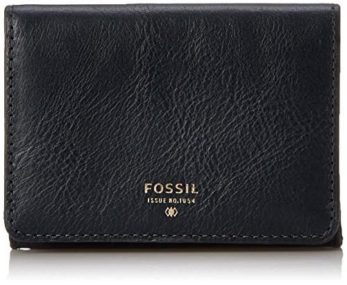 Fossil Sydney Gusseted Keycase Wallet, Heritage Blue, One Size