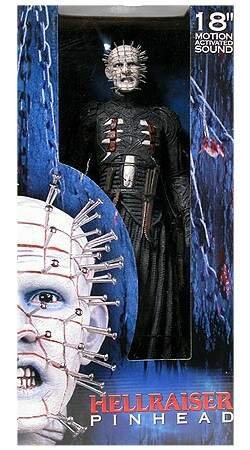 Picture of NECA Hellraiser: Pinhead #2 18-Inch Action Figure (W/Sound) (B000GDIBHA) (NECA Action Figures)