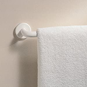 interdesign wall mount bathroom hand towel bar