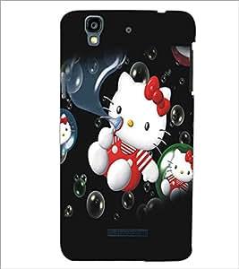 MICROMAX YU YUREKA KITTY Designer Back Cover Case By PRINTSWAG