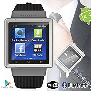 Indigi Android 4.4 Smart Watch Phone 3G WiFi Google Play Store Unlocked AT T T-mobile Straightalk Smartphone