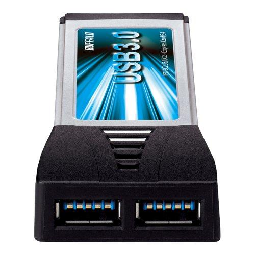 BUFFALO Express Card for additional interface card USB3.0&2.0 2 port with IFC-EC2U3/UC2