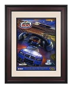 Framed 10 1 2 x 14 51st Annual 2009 Daytona 500 Program Print - Mounted Memories... by Sports Memorabilia