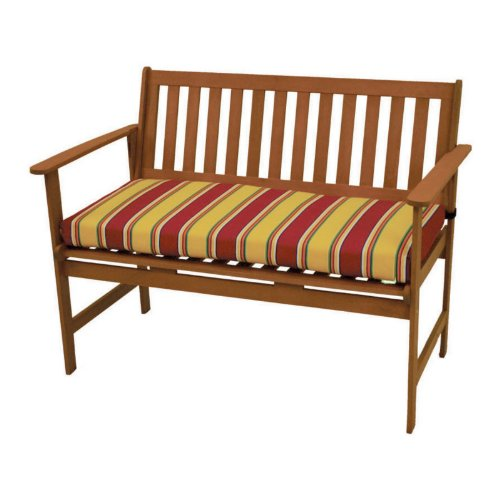 International Caravan Royal Tahiti Gulf Port Patio Bench