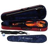 STENTOR バイオリン アウトフィット 1/8サイズ 適応身長110~115cm ハードケース、弓、松脂付 SV-180 1/8