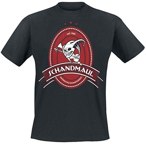 Schandmaul Reinheitsgebot T-Shirt nero S