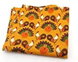 Turkeys Chickens Thanksgiving Pocket Square / Handkerchief 10