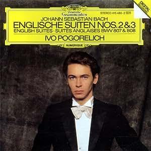 Englische Suiten Nos. 2 & 3 / English Suites / Suites Anglaises BWV 807 & 808