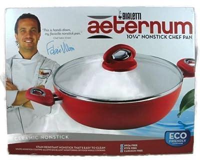 Bialetti Aeternum 10 1/4 Inch Ceramic Nonstick Chef Pan