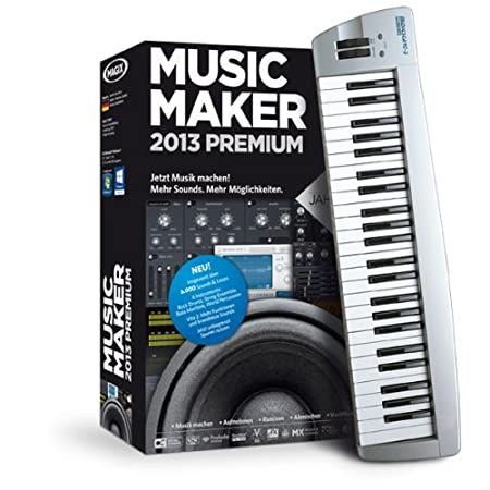 MAGIX Music Maker 2013 Control (Jubiläumsaktion inkl. Music Studio)