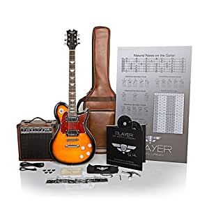keith urban 50 piece deluxe player solid body electric guitar package brazilian. Black Bedroom Furniture Sets. Home Design Ideas
