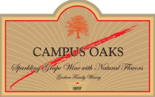 Nv Gnekow Family Winery Campus Oaks Almond Sparkling Wine 750Ml