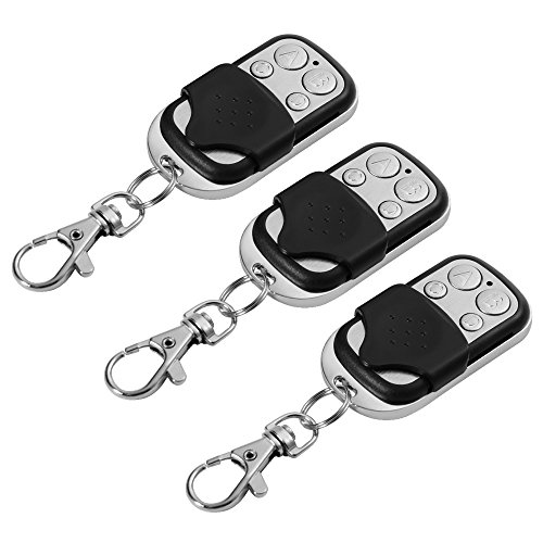 XCSOURCE 3pcs Electric Cloning Universal Gate Garage Door Opener Remote Control Fob 433mhz Replacement Key Fob HS760