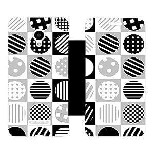 Skintice Designer Flip Cover with hi-res printed Vinyl sticker wrap-around for Micromax Canvas Doodle 4 Q391
