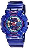 Casio Baby-G Analog-Digital Purple Dial Women's Watch - BA-112-2ADR (BX030)