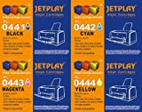 Jetplay PL-0441-0444. 2x Multipack +2 extra black =10 compatible inkjet replacement cartridges for Epson C64/C66/C84N/C86/CX3600/CX3650/CX4600/CX6400/CX6600 PRINTERS. High Quality Compatibles cartridges To Replace T0441/T0442/T0443/T0444