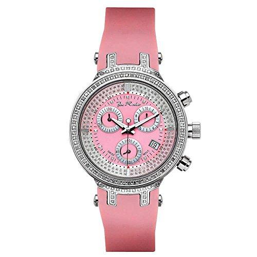 Joe Rodeo Diamante Mujer Reloj-Master Lady Plata 0.9Ctw