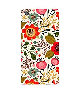 Floral Bloom Sony Xperia M5 Case