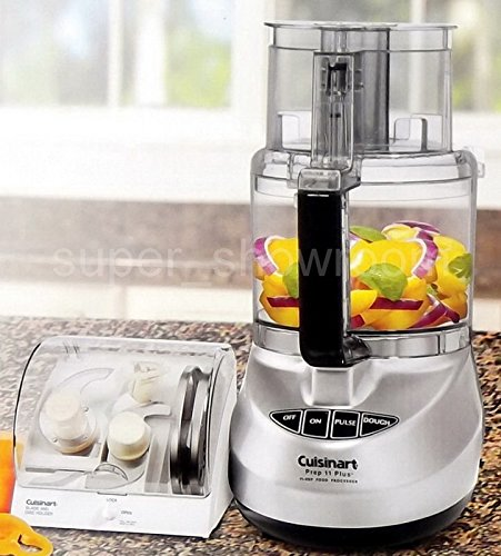 Cuisinart Kitchen Prep 11 Plus 11 Cup Full-size Food Processor with Blade & Disc Holder