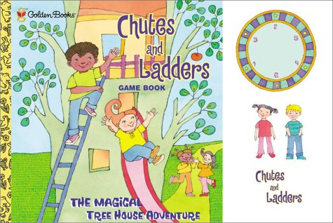 Hasbro Chutes and Ladders: Magical Tree House Adventure (Booktivity)