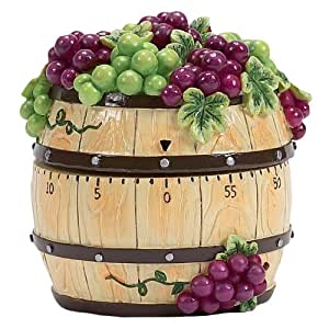 Boston Warehouse Napa Grapes Timer