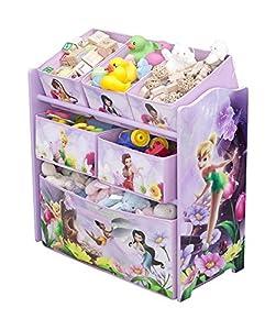 Organizador juguetero de Campanilla, Disney Fairies. TB84739FR por DELTA en BebeHogar.com