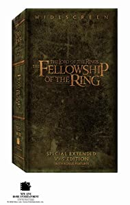 The Lord of Rings: Fellowship of Ring (Special Extended Edition) [VHS]