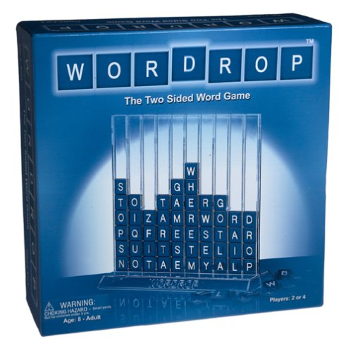 WORDROP The Two Sided Word Game - Up, Down, Diagonally, Backwards or Forwards!