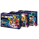 Lego Dimensions Story Pack Bundle: LEGO Batman Movie Story Pack (71264), Fantastic Beasts Story Pack (71253), Ghostbusters Story Pack (71242)