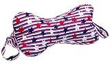 DogBones NeckBones Chiropractic Neck Pillow, Stars 'n' Stripes