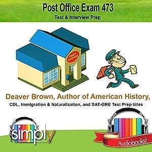 Post Office Exam 473 Audiobook