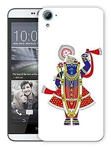 """Humor Gang Tirupati Balaji God Printed Designer Mobile Back Cover For """"HTC Desire 826"""" (3D, Matte, Premium Quality Snap On Case)"""