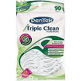 DenTek Triple Clean Floss Picks 90-count, (Pack Of 6)