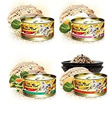 Fussie Cat Gold Variety Pack #2 - Canned Cat Food - 24/2.8oz Cans