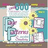 Page Patterns: Just Plain Simplicity ~ Cheryl Bradbury