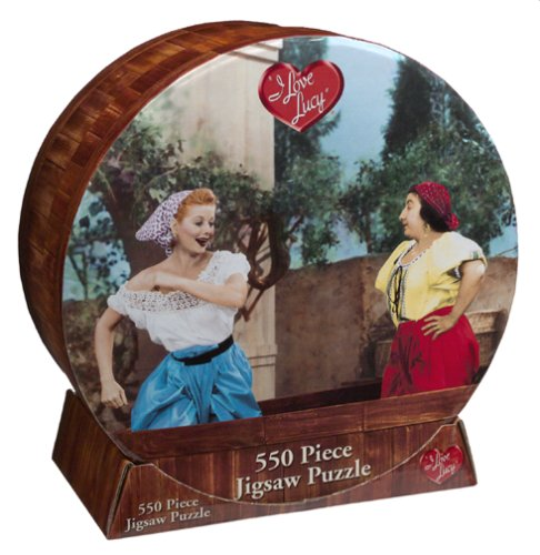 I Love Lucy Grape Stomping Jigsaw Puzzle