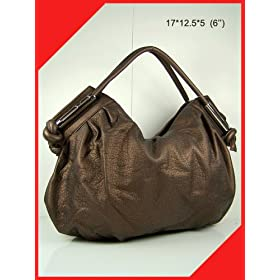women handbag purse valentine's gift hobo tote SX-5327 Bronze bag