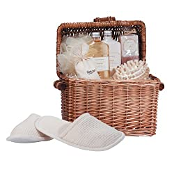 Spa-in-a-basket by VERDUGO GIFT CO.