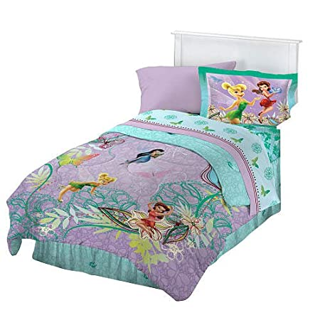 Tinkerbell bed set disney bedding tinkerbell tink from for Tinkerbell bedroom furniture