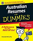 img - for Australian Resumes For Dummies 1st edition by McCarthy, Amanda (2011) Paperback book / textbook / text book